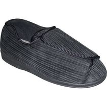 Tender Tootsies Slippers by Clinic Comfort system Black 9