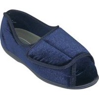 Tender Tootsies Slippers by Clinic Comfort System Navy 8