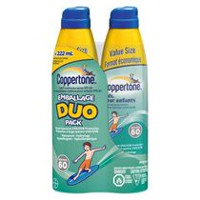 Coppertone Kids® Sunscreen Clear Continuous Spray Value Duo Pack - SPF 60