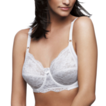 WonderBra style 7422 - Full support underwire all lace bra White 38DD