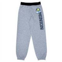 Minion Boys' Fleece  Jogger Pant L