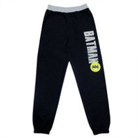 Batman Boys' Fleece  Jogger Pant L