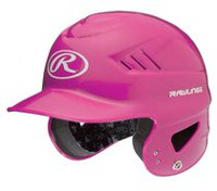 Casque T-ball Coolflo de Rawlings en rose