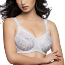 WonderBra style 7472 - Full support underwire with Flex-Frame® stretch lining White DD38