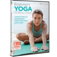Beginner's Yoga for Stress Relief (DVD) (English)