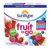 Collations assortiment 100 % Fruit to Go de Sun-Rype