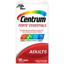 Centrum Forte Essentials Adults Complete Multivitamin and Mineral Supplement