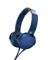 MDR-XB550AP/B On Ear EXTRA BASS™ Headphones Blue