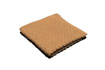 Popcorn Textured Wash Cloth Taupe