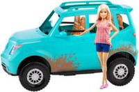 Barbie Doll and Off Road Vehicle