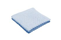 Popcorn Textured Wash Cloth Blue