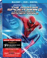 "The Amazing SpiderMan 2 (Blu-ray+DVD+Digital HD) (Includes SpiderMan: Homecoming 'Ticket Offer'. Also while supplies last receive one of two randomly selected ""Funko"" Figurine packs.)"