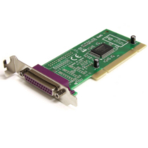 1 Port Low Profile PCI Parallel Adapter
