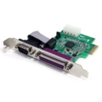 1S1P PCIe Parallel Serial Combo Card