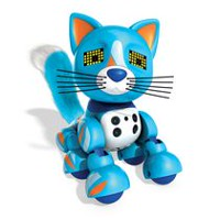 Zoomer Meowzies, Patches, Interactive Kitten with Lights, Sounds and Sensors Playset