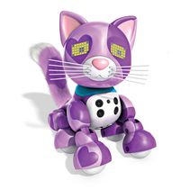 Zoomer Meowzies, Viola, Interactive Kitten with Lights, Sounds and Sensors Playset