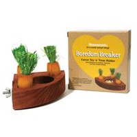 Rosewood Pet Carrot Toy 'n' Treat Holder Small Animal Toy