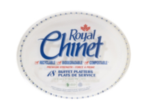 Royal Chinet Oval Platter