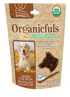 Organicfuls Salmon Flax Recipe Organic Dental Chews for Dogs