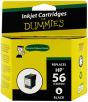 Ink For Dummies HP 56 Black Ink(C6656A)