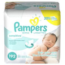 Pampers Baby Wipes Sensitive 3X Pack