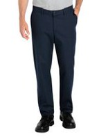 Genuine Dickies Men's Flat Front Comfort Waist Flex Pant 36x32