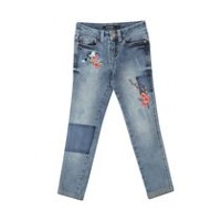 George Girls' Embellished Jeans 14