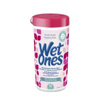 Wet Ones Antibacterial Hand Wipes, Fresh Scented Wet Wipes