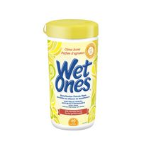 Wet Ones Antibacterial Hand Wipes, Citrus Scent Wet Wipes