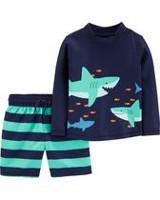 900c163a0 Child of Mine made by Carter's Toddler Boys Swimwear Rashguard Set