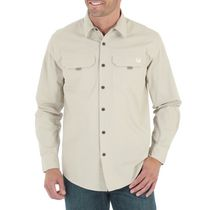 Wrangler Men's Long Sleeve Canvas Shirt 2XL