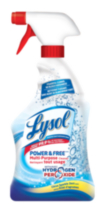 Lysol Power & Free Multi-Purpose Trigger with Hydrogen Peroxide- Citrus