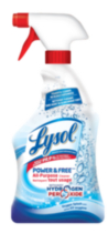 Lysol Power & Free Multi-Purpose Trigger with Hydrogen Peroxide- Oxygen Splash