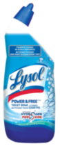 Lysol Power & Free Toilet Bowl Cleaner with Hydrogen Peroxide - Cool Spring Breeze