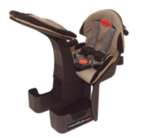 WeeRide Kangaroo Ltd. Front Centre-mount Child Carrier