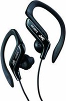 JVC HAEB75 Sweat Resistant Sport Headphones - Blue Black