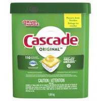 Cascade® ActionPacs™  Dishwasher Detergent, Lemon Scent