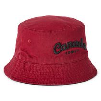 Not Applicable Budweiser Beer Logo Canvas Bucket Hat Foldable Spring And Summer Travel Fisherman Hat Beach Sun Hat