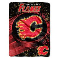 The Northwest Couverture super peluche en micro raschel LNH Calgary Flames