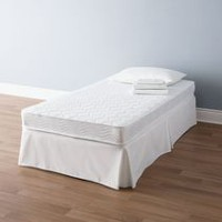 Mainstays 6-inch White Innerspring Twin Coil Mattress