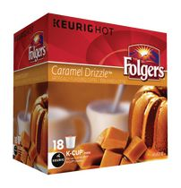 Folgers Caramel Drizzle K-Cup Coffee Pods
