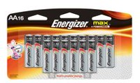 Energizer 16-Pack MAX AA Batteries