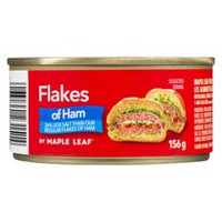 Maple Leaf Flakes of Ham