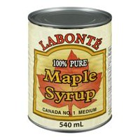 Labonte 100% Pure Medium Maple Syrup