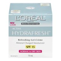 L'Oréal Paris Hydrafresh  Moisturizer Normal To Dry