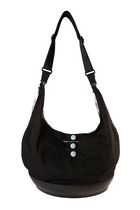EquiptBaby Black Diaper Bag with Pad - The Santa Rosa