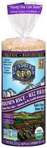 Lundberg Organic Brown No Salt Rice Cakes