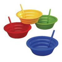 Arrow 22 oz. Sip-A-Bowl with Built-in-Straw