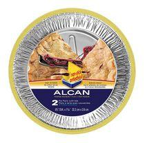 Alcan  9 Inch Pie Pans with Lids