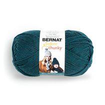 Bernat Softee Chunky  Yarn, Teal, 14oz(400g), Super Bulky , Acrylic